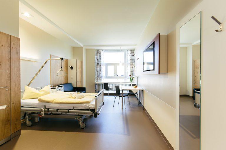 Палата в ортопедическом центре Германии - лечение в Германии